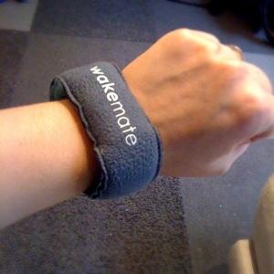 WakeMate armband