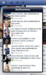 Facebook for iPad notifications