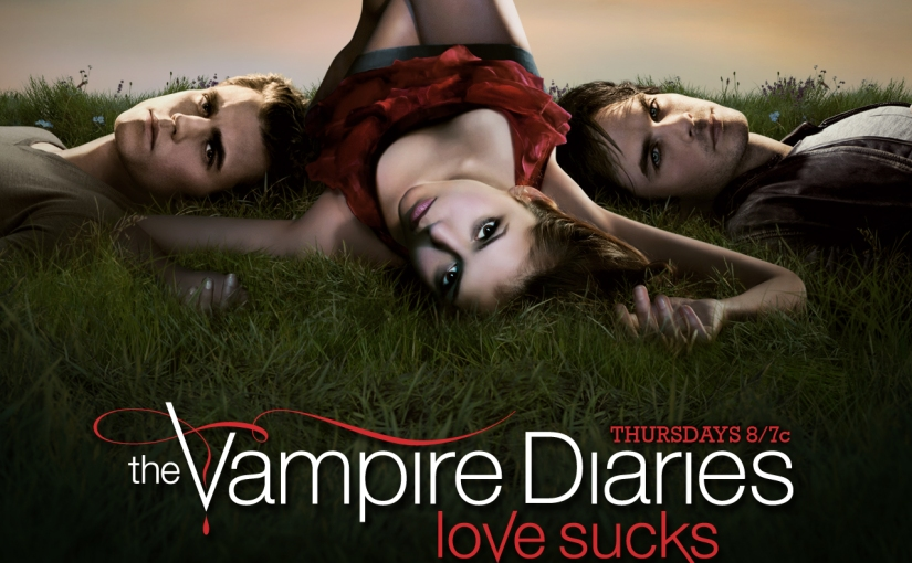I am a person who watches the Vampire Diaries now.