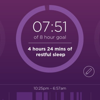 misfit app sleep